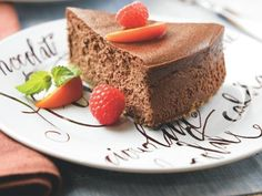 15 Diabetes-Friendly Chocolate Desserts: Creamy Chocolate Cheesecake http://www.prevention.com/food/healthy-recipes/?s=15