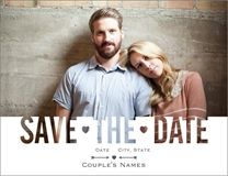 cut out save the date Luxury Wedding Invitations and Announcements