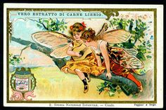 Liebig S576 - Children in Insect Costumes #2 by cigcardpix, via Flickr