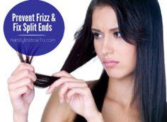 Prevent Frizz & Fix Split Ends