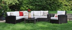 Choose from over 50 collections to find the perfect set to fit your backyard design, style, and layout. Choose from different colours and seating options. Outdoor Sectionals, Family Pool, Outdoor Furniture Sets, Outdoor Decor, Furniture Collection, Backyard Landscaping, Feng Shui, Pools, Furniture Design