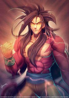 Goku Super Saiyan Level 4 by SoyUnGnomo.deviantart.com on @deviantART