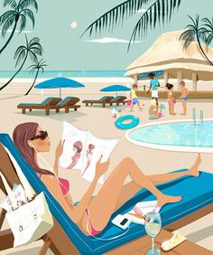 Inspiration: Fashion-Centric vectorielle Illustrateurs - Tuts + Design Illustration article