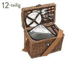 Picknickkorb Cambridge für 2 Personen, 12-tlg., B 35 cm