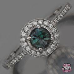 Gorgeous alexandrite ring!