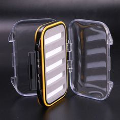 CLEAR LID FISHING FLY BOX