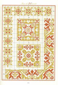 ru / Photo # 110 - the book - Irinika Cross Stitch Sampler Patterns, Cross Stitch Borders, Cross Stitch Samplers, Cross Stitch Designs, Cross Stitch Embroidery, Embroidery Patterns, Cross Stitch Patterns, Seed Bead Patterns, Weaving Patterns