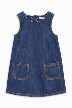 Buy Denim A-Line Dress (3mths-6yrs) online today at Next: United States of America