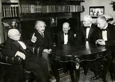 Einstein y Planck 1931