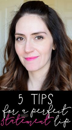 Red and Pink lipstick application tips