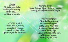 Detské hry - Album používateľky mery333 Projects For Kids, Jar, Teacher, Education, School, Speech Language Therapy, Kids Service Projects, Professor, Jars