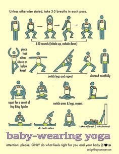 A workout for you your baby will love