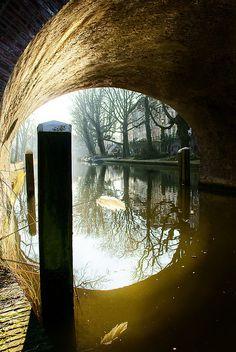 ✯ Under the Bridge - Oude Gracht, Utrecht, Holland