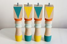 Ridiculously Easy DIY Detail: Painted Legs!