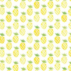 Pattern ananas Création de motifs. Une fois dessinés, je scanne, vectorise et assemble les motifs pour créer un pattern, utilisable sur papier-peint, tissu ou autre.