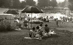 Sunbathing at The Lido Guildford Dolores Park, British, Swimming, Memories, Travel, Swim, Memoirs, Souvenirs, Viajes