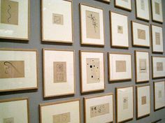 VASILY KANDINSKY (French, born Russia. 1866-1944)  Drawings for Punkt und Linie zu Fläche (Point and line to plane)  1925  A selection of twenty-eight works, variously ink, ink wash, gouache, pencil, crayon, and chalk  on paper and tracing paper  Various sizes On Line at MoMA with Jill Krementz | New York Social Diary
