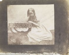 Fox Talbot's daughter, Rosamond - who was born in 1837 and died in 1906 - is seen in a picture at Lacock Abbey in 1843 Henry Fox Talbot, Nelson's Column, Science Museum, Image Shows, Historical Photos, Talbots, Vintage Photos, Dawn, The Incredibles