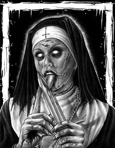 Nun (Untitled)2 by herrerabrandon60 on DeviantArt