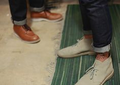 Jeans and boots by Ryan E. Plett