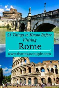 Planning a trip to Rome soon? Be sure you have read our list of 21 Things You Need to Know Before Visiting Rome before you go. This complete list will let you in on all the tips you need to know before going, like why you shouldn't order a cappuccino after 11. #rome #triptorome #visitrome #romevacation #italy #guidetorome