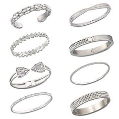 Which one of these Swarovski bangles would you pick to match your dream outfit? #banglemania