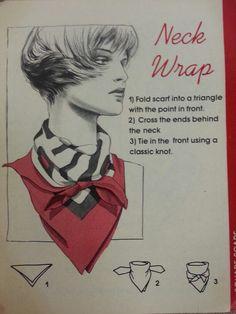 Neck Wrap (Scarf tying - pg 12)