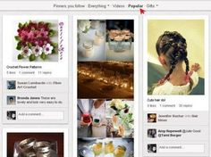 "6 Tips for Using Pinterest for Business  If you visit the Popular Section of Pinterest, you'll see that most of the popular pictures and images in this section are original and unique.  **The popular images are ""repinned,"" ""liked"" and commented on the most number of times  #pinterest"