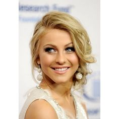 Julianne Hough Prom Updo Hairstyle - Julianne Hough - Zimbio found on Polyvore