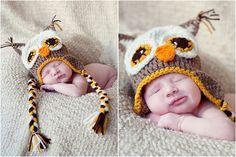 Hoot Owl Crochet Hat