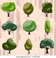 conjunto de árbol