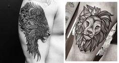 tatuagem de leão, desenho leão, tatuagem potilhada, tatuagem aquarela, alex cursino, inspirações, como fazer, grooming, blog de moda masculina, menswear, dicas de moda para homens (16)-horz