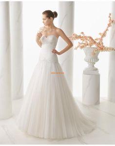 Tavasz Fűzős Empire Menyasszonyi ruhák 2015