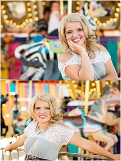 Kaylee Eaton // 2014 Senior » Morgan and Alison // Senior carnival themed session // Uintah High School // Vernal, Utah