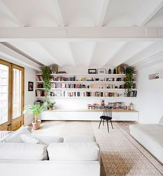 Reforma integral para unir dos pisos y conseguir una única vivienda
