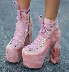 unif Pink heels