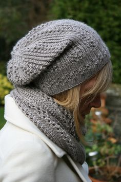 Ravelry: Elbrus pattern by Paulina Popiolek Knitting pattern I like-hat & scarf