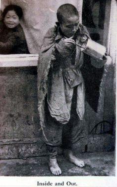 A child beggar