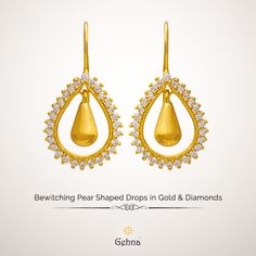 Round brilliant diamonds handcrafted to perfection around the pear shaped border!