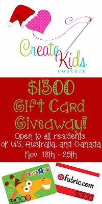 Create Kids Couture Giveaway