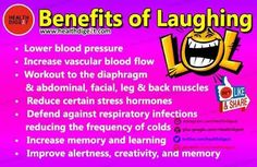 Do laughing yoga:)
