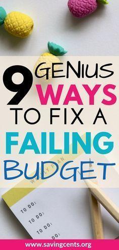 Budgeting tips to create a successful budget #budgetingtips #budgetingforbeginners #howtobudget #savingcents