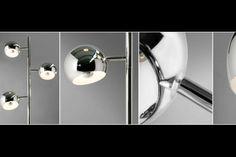 Die Stehlampe TRITON lässt sich individuell einstellen und ist ein Eyecatcher für modernes Wohnen. Weitere Farben ✓ Kauf auf Rechnung ✓ Online kaufen!