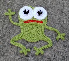 Ravelry: Mi pequeño patrón de la rana por Thomasina Cummings Designs