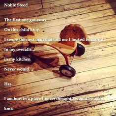 Noble Steed #theonethatgotaway #noblesteed #overalls #kitchen #poem #childstoy Kids Toys, Overalls, Poems, Children, Kitchen, Childhood Toys, Young Children, Boys, Cooking