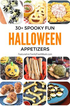 I've rounded up some of my favorite Spooky Fun Halloween Appetizers to make your October bash extra special . Keep it fun for your gatherings! Halloween Snacks, Cute Halloween, Holidays Halloween, Easy Halloween Appetizers, Cheese Appetizers, Appetizers For Party, Appetizer Ideas, Fall Recipes, Holiday Recipes