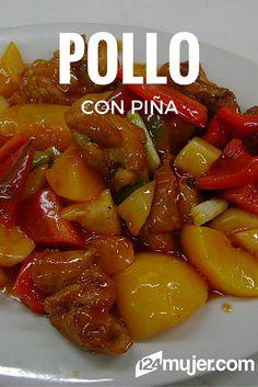 ¡Prueba algo diferente,checa esta receta de pollo con piña!#Gourmet