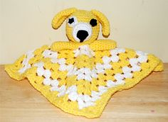 Craft Passions: Puppy dog lovey free crochet pattern