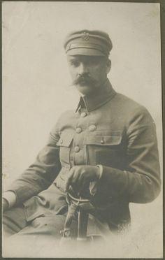 Józef Piłsudski, około 1914, fot. Józef Kuczyński