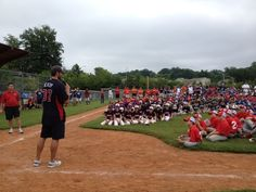 Brandon Beachy welcomed 40 teams participating in the Braves Youth Baseball Classic this weekend.